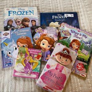 Princess Book Bundle (Frozen, Sophie etc)